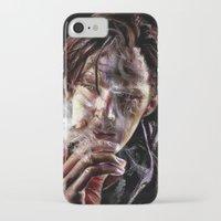 cumberbatch iPhone & iPod Cases featuring benedict cumberbatch by jiyounglee0711