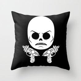DeathRay Evil Empire Logo Throw Pillow