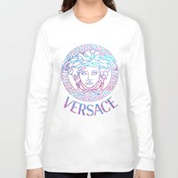 versace Long Sleeve T-shirts featuring Versace always stuntin' by Goldflakes
