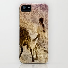 island tapestry iPhone Case