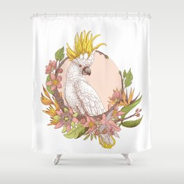 cacatoes Shower Curtain