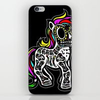 mlp iPhone & iPod Skins featuring Sugarskull MLP by BURPdesigns