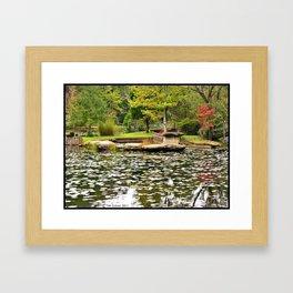 Calm, Peaceful Day Framed Art Print