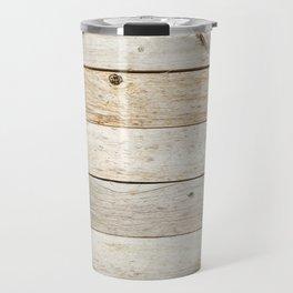 Vintage Wood Travel Mug