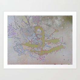 Green Mangroves 2 Art Print