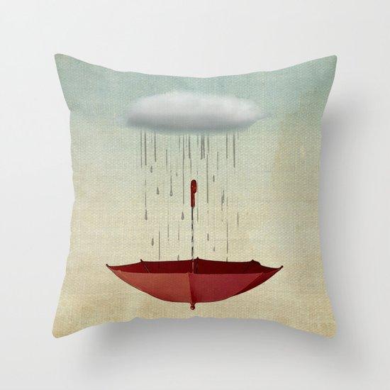 embracing chance Throw Pillow