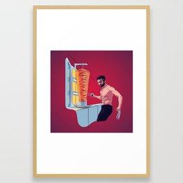 Wolver-reem Framed Art Print