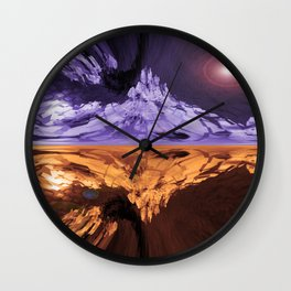 An Ornamental Cherry In 3-D Wall Clock