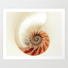 Shell of life Art Print