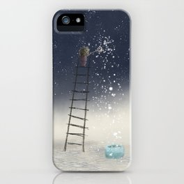 Harvesting Stars iPhone Case