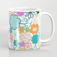 chelsea Mugs featuring Chelsea by Elephant & Rose