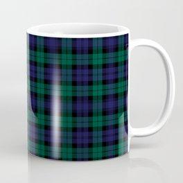 Blackwatch Modern Tartan - Scottish Tartan Coffee Mug