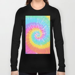 Rainbow Tie Dye Long Sleeve T-shirt