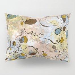 Flourish: Create, Art, Inpspire Pillow Sham