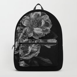left side flowers Backpack