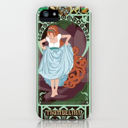 Thumbelina Nouveau - Thumbelina iPhone Case