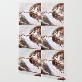 The Creation Of Adam Wallpaper
