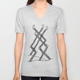 Crooked Stairs Unisex V-Neck