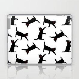Cats-Black on White Laptop & iPad Skin