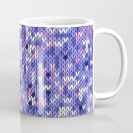 Knitted multicolor pattern 6 Coffee Mug