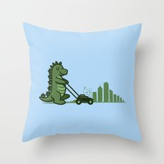 Mowtown Throw Pillow