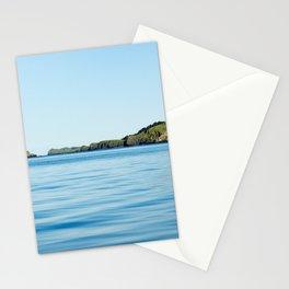 Island on the Horizon Photography Print Stationery Cards