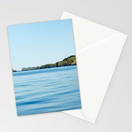 Island on the Horizon Photography Print Stationery Cards
