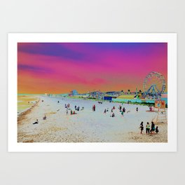 Old Orchard Beach, Maine  Art Print