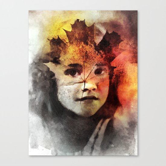 Leafe Canvas Print
