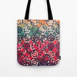 Grunge industrial pattern Tote Bag