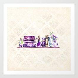 Magic Shelf Art Print