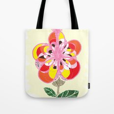 These Bloomed When We First Kissed Tote Bag