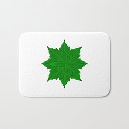 Decorative Ornament Isolated Plants  Bath Mat