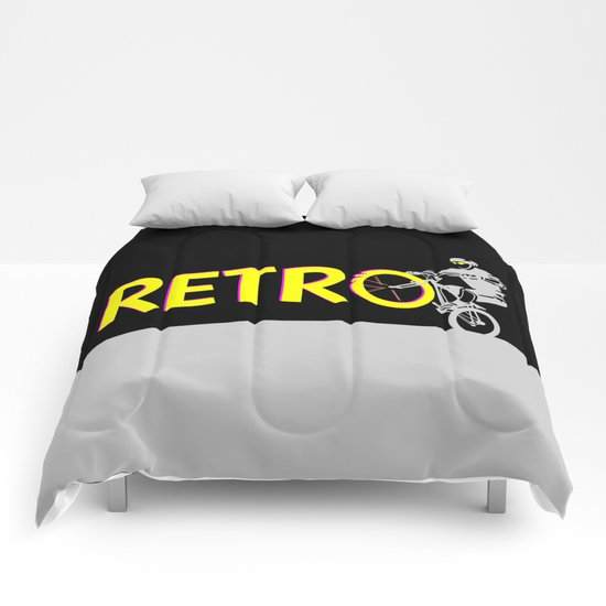 Retro Bike Comforters