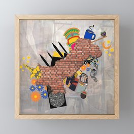 Culturaly Strong! Framed Mini Art Print