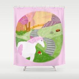 Unicornland Shower Curtain