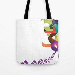Flowers of Simele Tote Bag