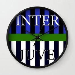 INTER or JUVE Wall Clock