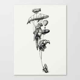 The Helium Menagerie Canvas Print