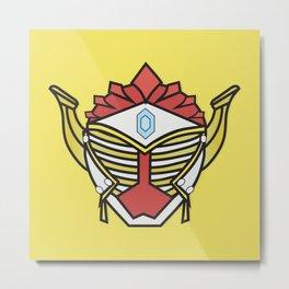 Kamen Rider Gaim- Baron Metal Print