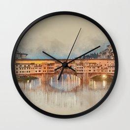Firenze, Ponte Vecchio Wall Clock