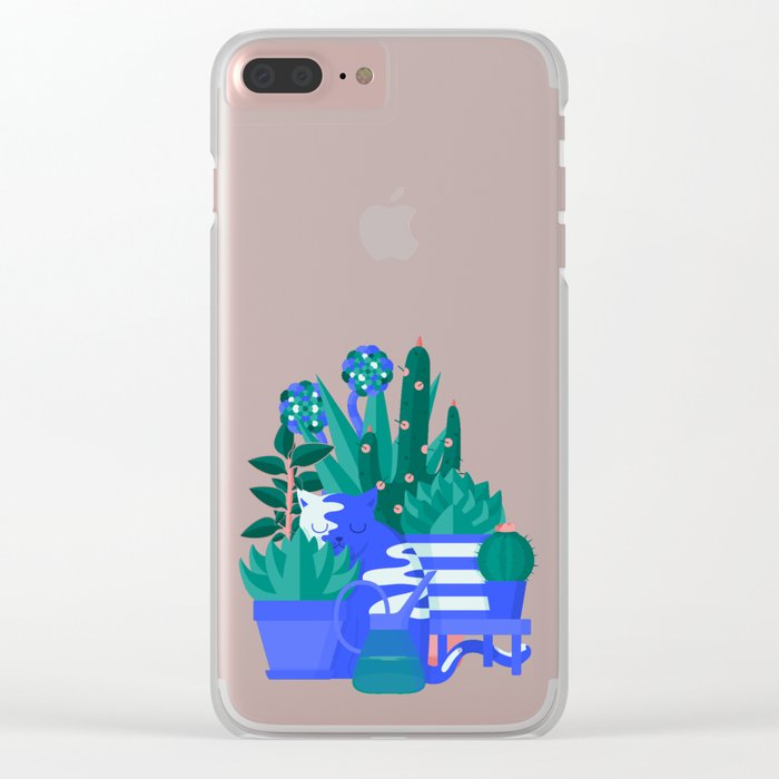Comfort Zone Clear iPhone Case