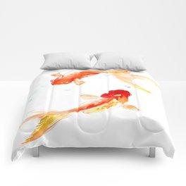 Goldfish, Two Koi Fish Comforters