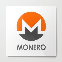 MONERO Metal Print