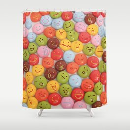 kawaii chocolate Shower Curtain