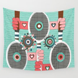 Tennis anyone? Wall Tapestry