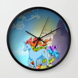 Rainidash Wall Clock