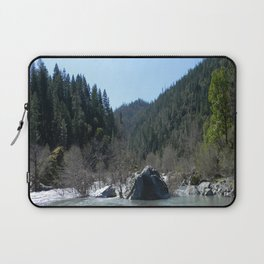 Gorgeous day in the mountains... Laptop Sleeve