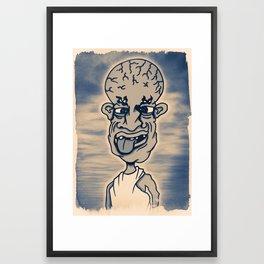 Enlightenment  isn't Always Pretty Framed Art Print