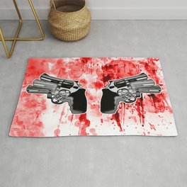 Double Triple (revolver) Rug